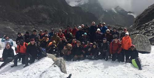 Everest Base Camp / Cho-La-Pass team